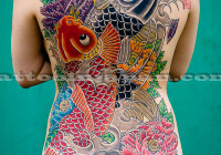 Japanese traditional & modern tattoo art photographed by Martin Hladik