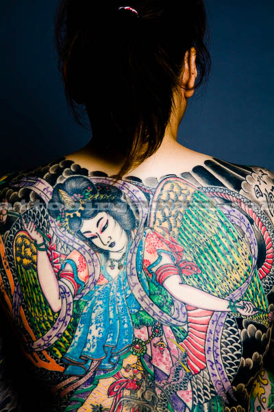 Horiyoshi iii the most famous tattoo artist in for Best traditional tattoo artists