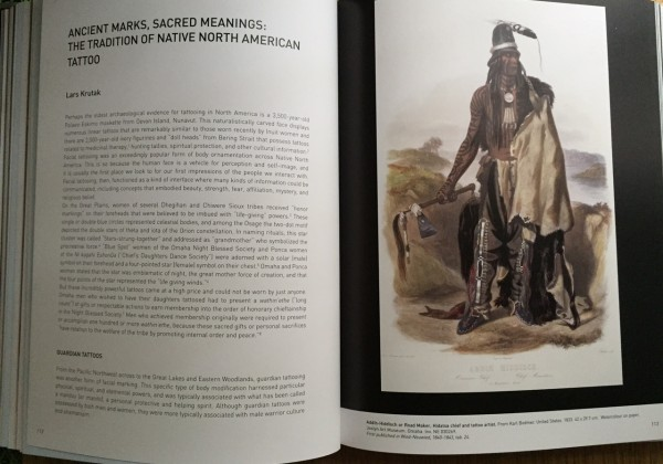 Branly Museum catalog of Tattoo exhibition
