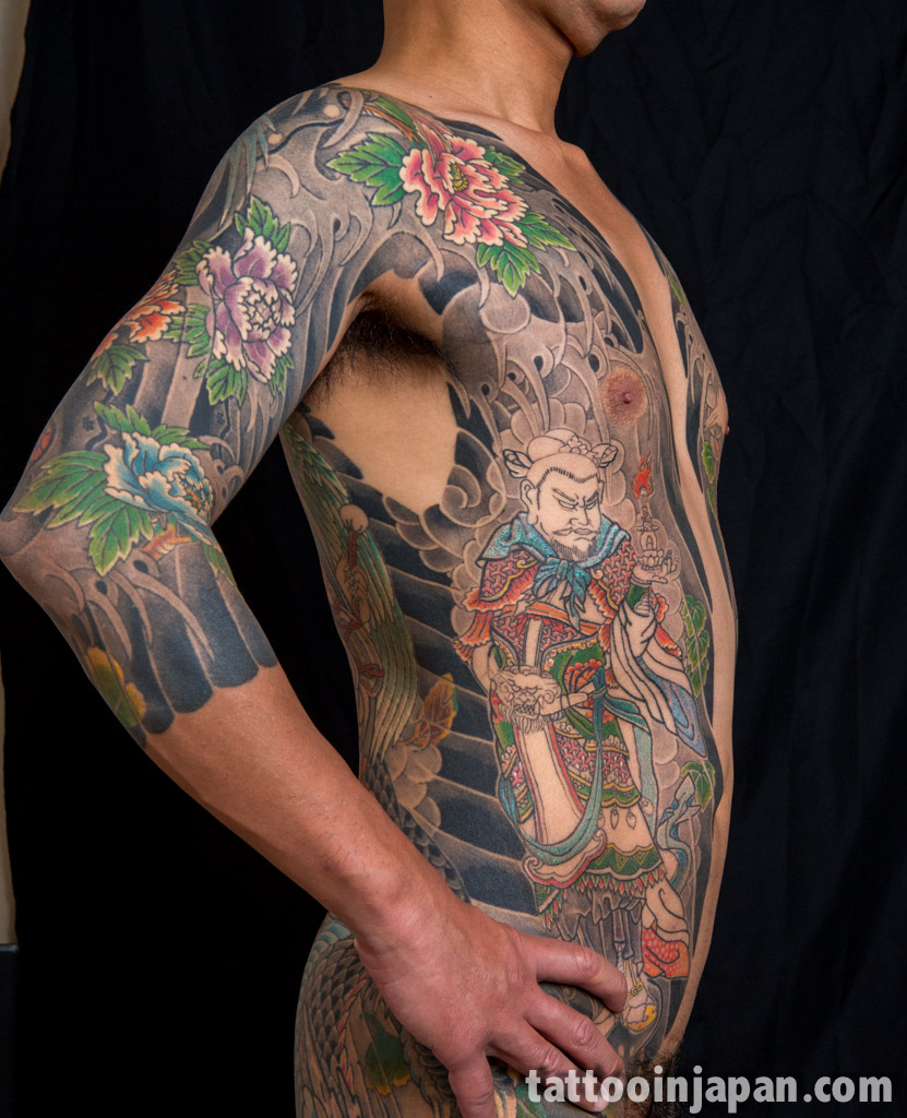 Japanese tattoo master photo shoottattoo in japan for What to use on new tattoos